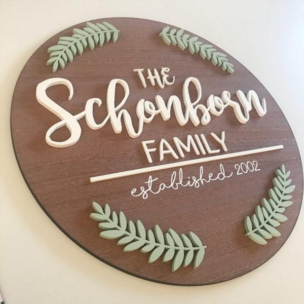 Family Plaque