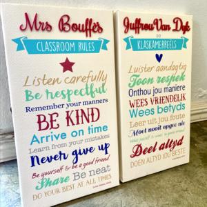 Classroom Rules Canvas