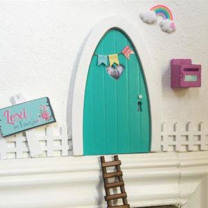 Turquoise Magic Door