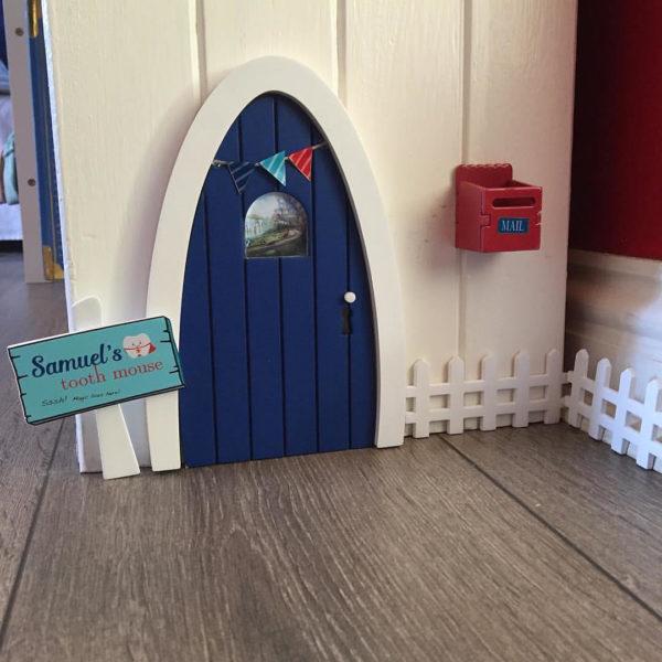 Blue Magic Door