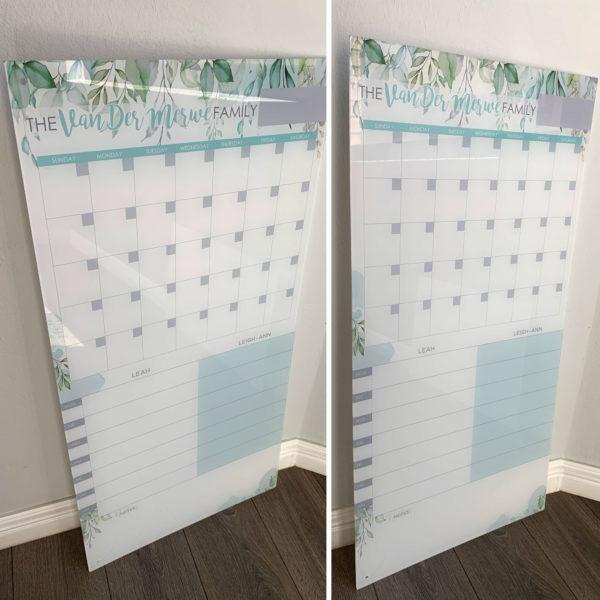 Botanical Acrylic Planner