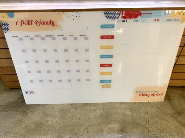 Monthly / Weekly Planner