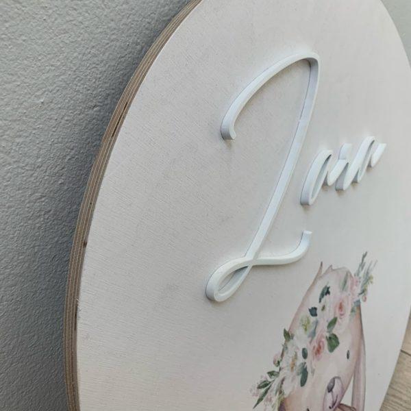 Bunny Birch name plaque