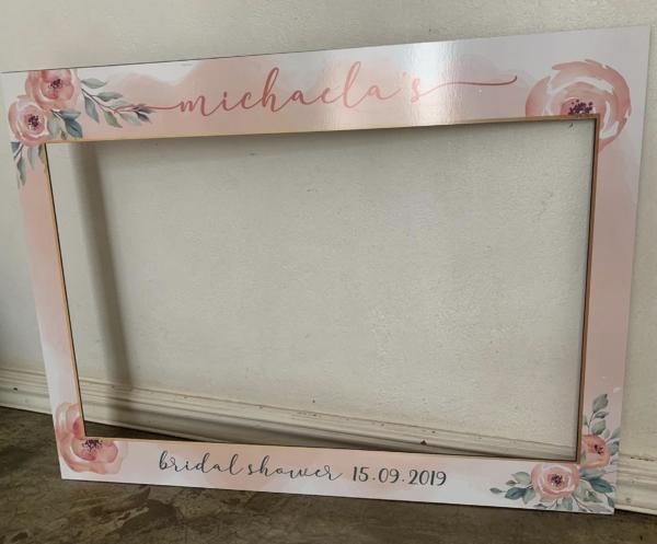 Bridal Photo Frame