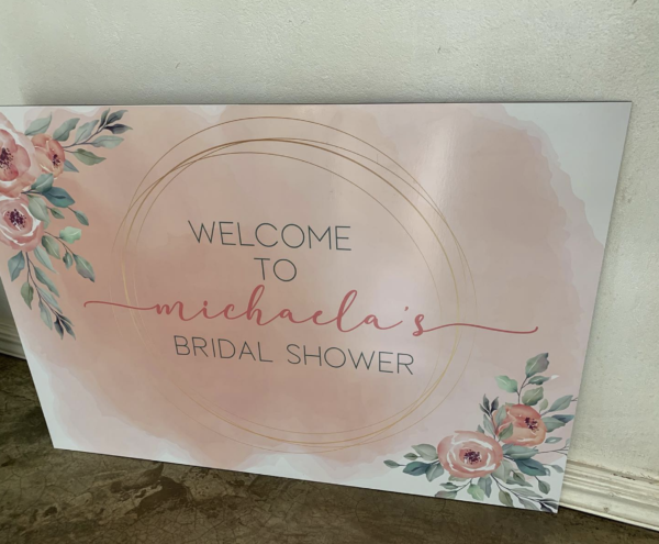 Bridal Photo Board