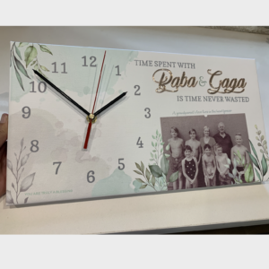 Family Canvas Clock
