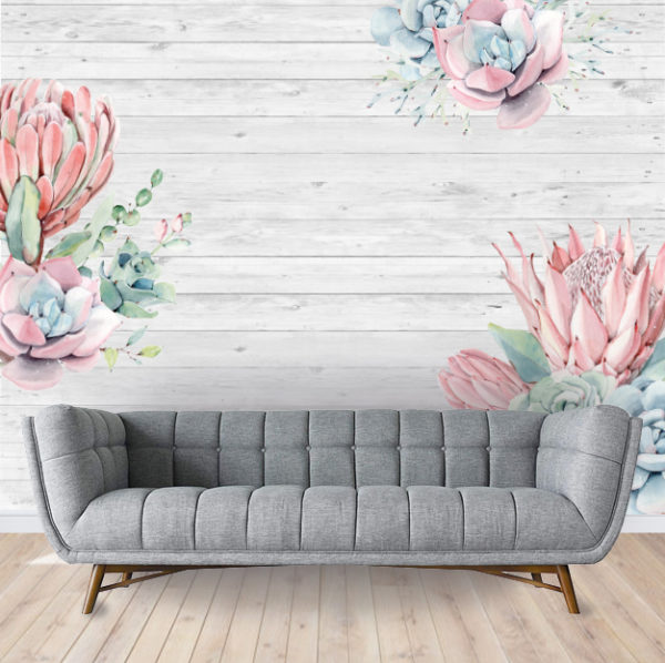 Succulents Wallpaper