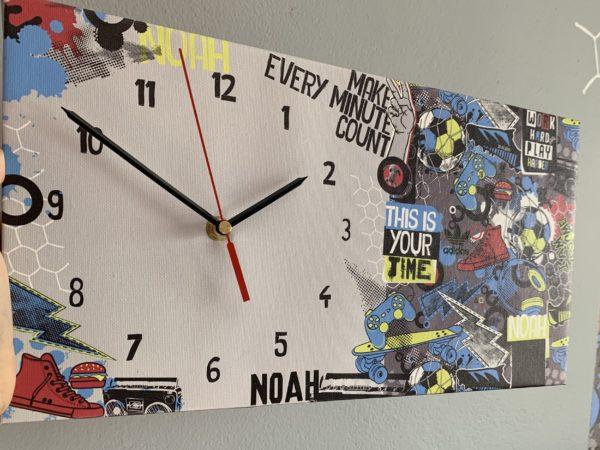 Games Canvas Clock