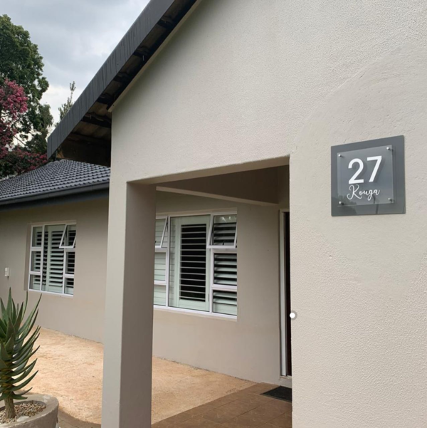 Acrylic House Number