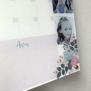 Family Life Acrylic Planner