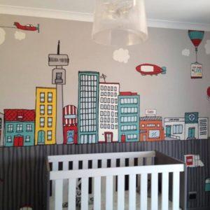 Wallpaper Jozi Cityscape