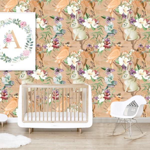 Wallpaper: Woodland Animals