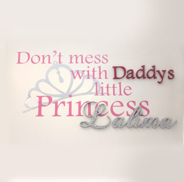 Daddy's little princess Anniversary Gifts