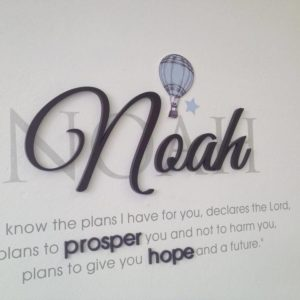 Prosper & Hope wall art