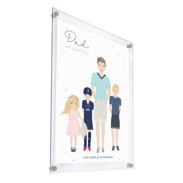 Family Portrait Acrylic Print