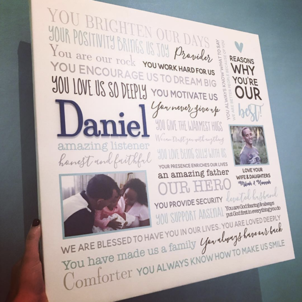 Reasons we love Daddy Canvas