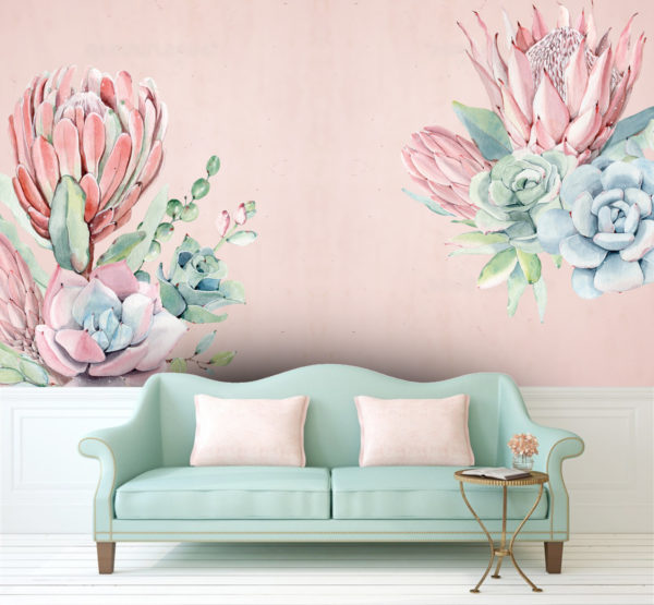 Protea Decals Large