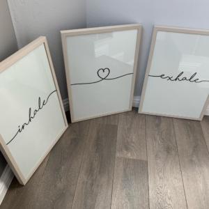 Inhale Exhale Frame set