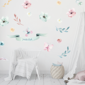 Springtime wall stickers