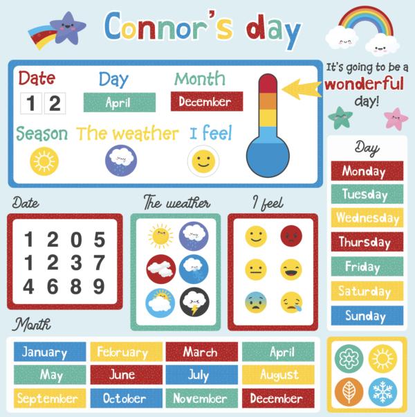 Personalised Daily Calendar