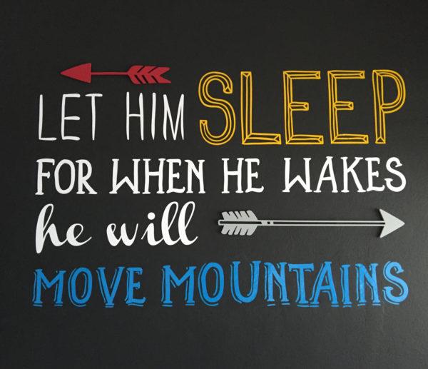Move Mountains Wall Art