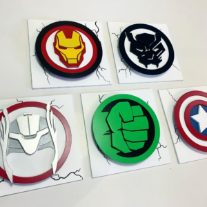 Superhero Wallart Panels