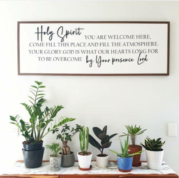 Holy Spirit Open Frame