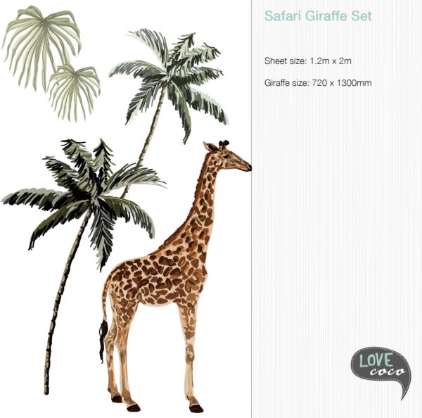 Safari Animal Decals