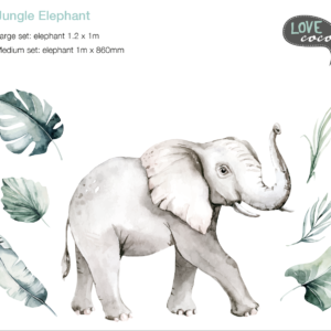 Jungle Elephant Decal