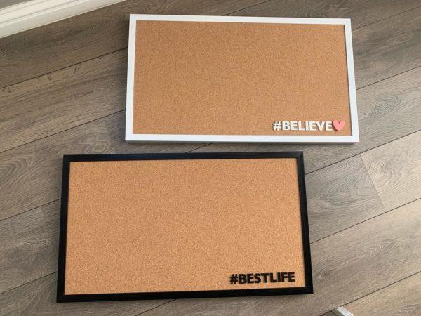 Framed Pin Board