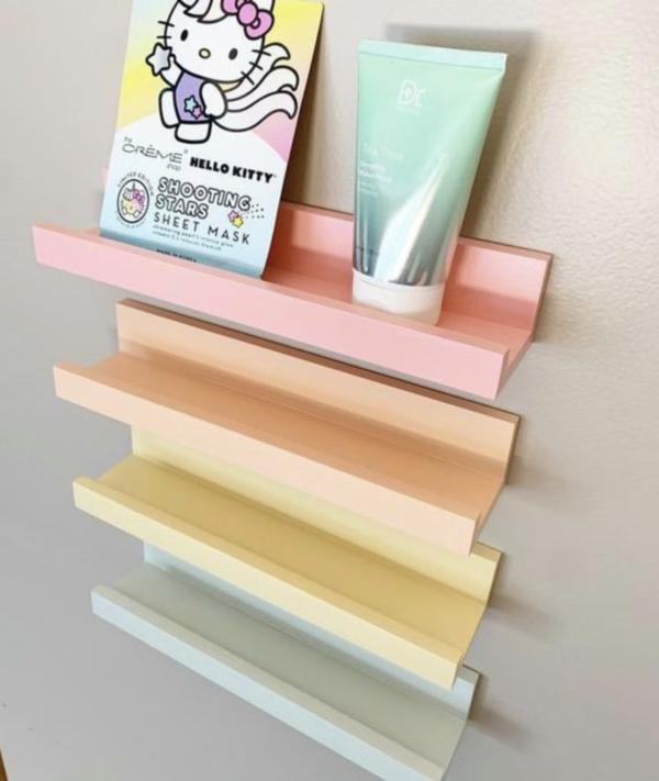 Coloured Ledge Shelf