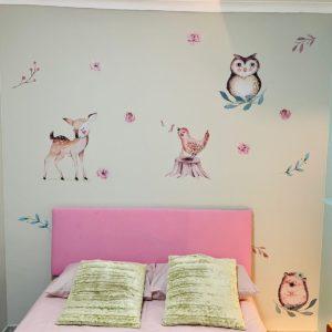 Woodland Animal Wall Stickers