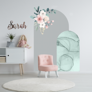 Floral Arch Wall Stickers